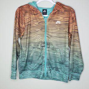 NIKE SB • lightweight zip-up hoodie ombre